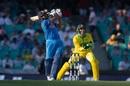 Rohit goes for a big one, Australia v India, 1st ODI, Sydney, January 12, 2019