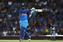 Dinesh Karthik is bowled, Australia v India, 1st ODI, Sydney, January 12, 2019