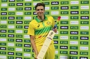 Player of the Match Jhye Richardson took 4 for 26, Australia v India, 1st ODI, Sydney, January 12, 2019