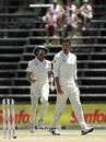Duanne Olivier and Dale Steyn roar, South Africa v Pakistan, 3rd Test, Johannesburg, 2nd day, January 12, 2019