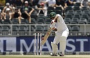 Sarfraz Ahmed punches the ball, South Africa v Pakistan, 3rd Test, Johannesburg, 2nd day, January 12, 2019