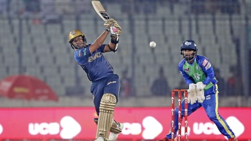 Rony Talukdar goes through midwicket