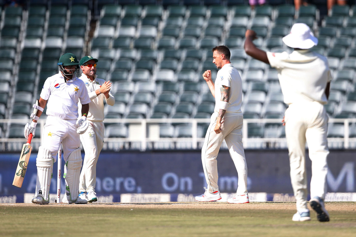 Pakistan Vs South Africa 3rd Test Day 3 Highlights