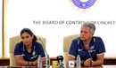 Mithali Raj and WV Raman field questions at the BCCI headquarters, Mumbai, January 13, 2019