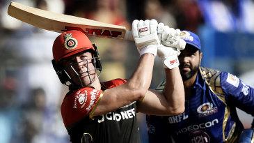 AB de Villiers slogs one