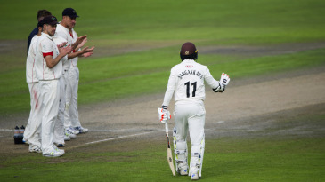 Kumar Sangakkara capped his final first-class season with eight centuries and 1491 runs at an average of 106.50