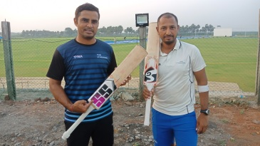 Rajat Bhatia and Vineet Saxena batted the entire day without being separated against Meghalaya