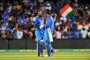 MS Dhoni and Dinesh Karthik finished it off for India, Australia v India, 2nd ODI, Adelaide, January 15, 2018