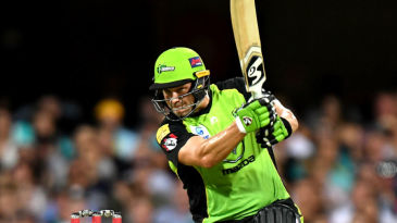 Shane Watson crunches one through extra cover