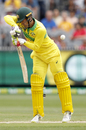 Alex Carey edges the ball behind, Australia v India, 3rd ODI, Melbourne, January 18, 2019