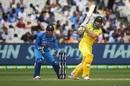 Shaun Marsh drives forcefully, Australia v India, 3rd ODI, Melbourne, January 18, 2019