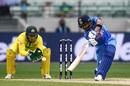 Virat Kohli drives through cover, Australia v India, 3rd ODI, Melbourne, January 18, 2019
