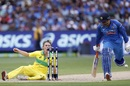 MS Dhoni scampers home to survive a run-out chance, Australia v India, 3rd ODI, Melbourne, January 18, 2019