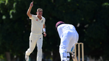 Stuart Broad claims another wicket in England's warm-up
