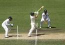 Will Pucovski plays the cut shot, Cricket Australia XI v Sri Lankans, Tour game, Hobart, 3rd day, January 19, 2019