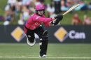 Dane van Niekerk swats one through the off side, Sydney Sixers v Melbourne Renegades, WBBL semi-final, Sydney, January 19, 2019