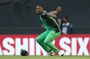 Dwayne Bravo took a stunner to send back Marcus Harris, Melbourne Renegades v Melbourne Stars, Big Bash League 2018-19, Melbourne, January 19, 2019