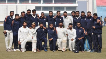 Saurashtra reached the Ranji Trophy semi-finals after beating Uttar Pradesh