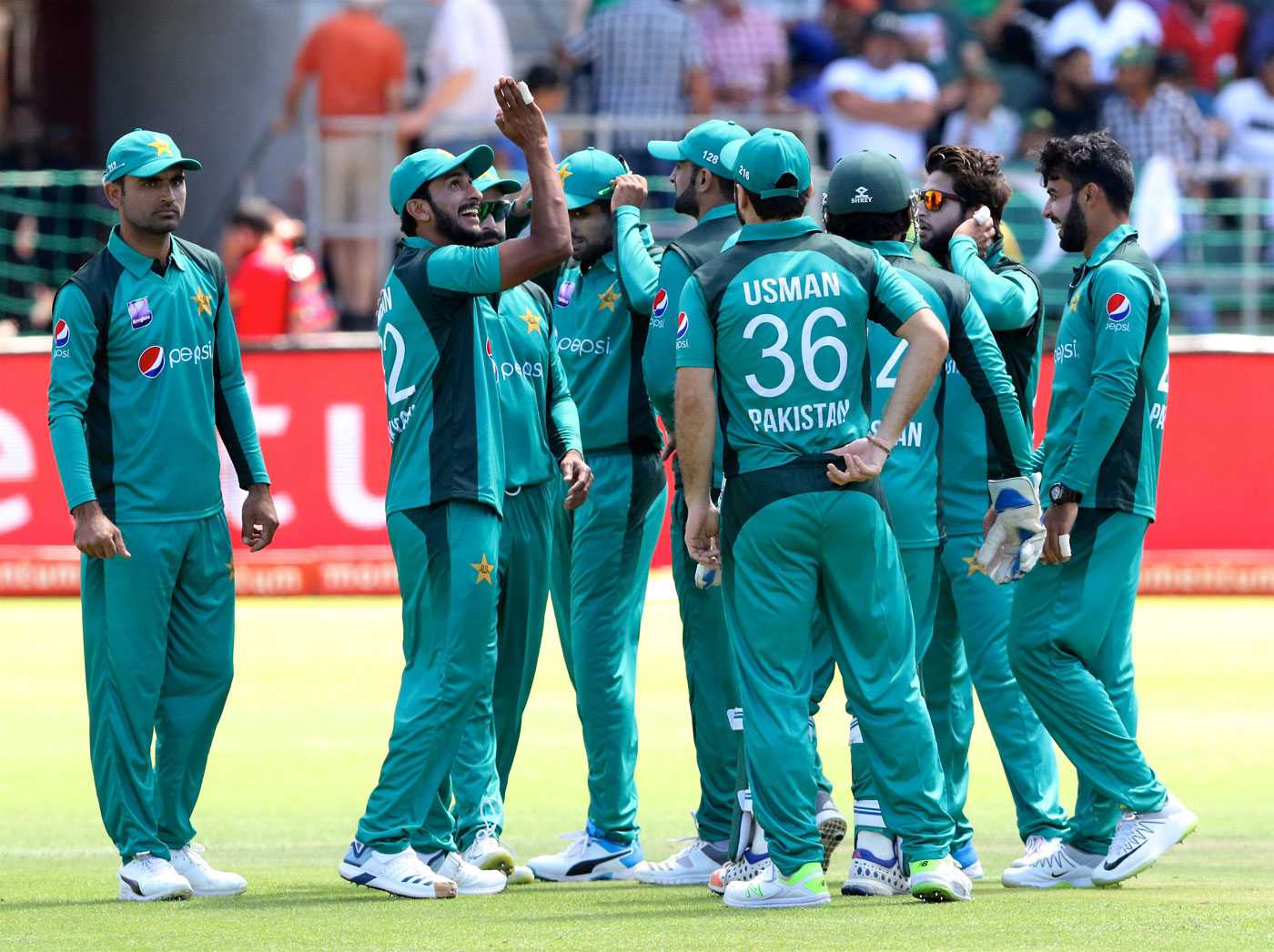 South Africa win toss and opt to field first in 2nd ODI against Pakistan