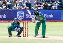 Hashim Amla shapes to drive through the leg side, South Africa v Pakistan, 1st ODI, Port Elizabeth