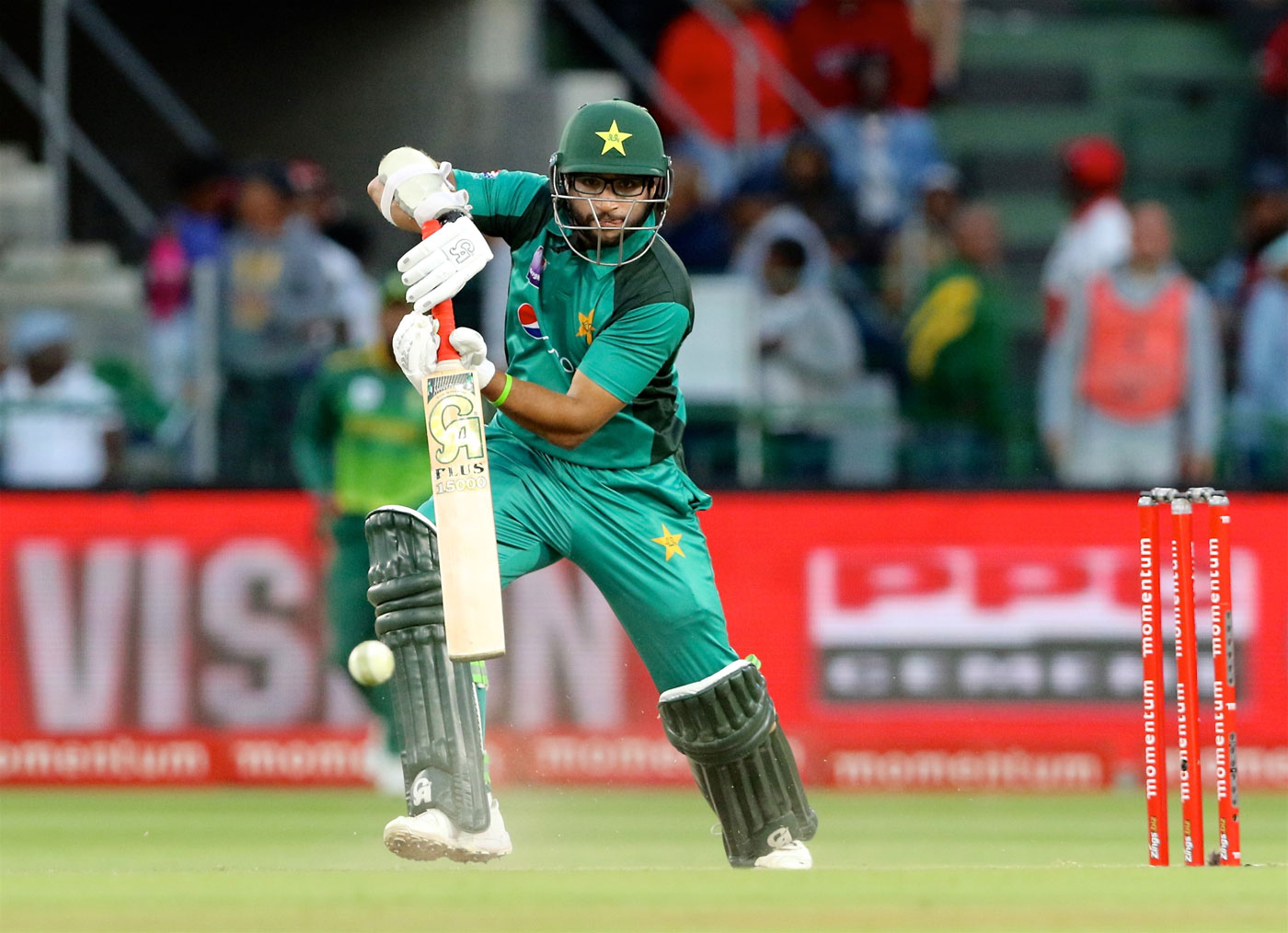 Imam-ul-Haq and Mohammad Hafeez take Pakistan to a five-wicket win in first ODI against South Africa