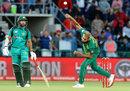 Imran Tahir in his delivery stride, South Africa v Pakistan, 1st ODI, Port Elizabeth