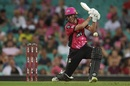 Jordan Silk shared a crucial stand with James Vince, Sydney Sixers v Brisbane Heat, BBL 2018-19, Sydney, January 20, 2019