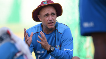 Richard Pybus takes charge of West Indies training