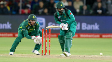 What do Pakistan need to win? The writing's on the stumps