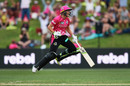 Alyssa Healy celebrates the win, Sydney Sixers v Melbourne Renegades, semi-final, Women's Big Bash League, Sydney, January 19, 2019