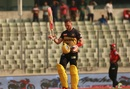 Laurie Evans hit 104 not out in 62 balls, Comilla Victorians v Rajshahi Kings, Bangladesh Premier League, Dhaka, January 21, 2019