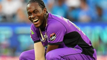 Jofra Archer takes a breather