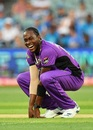 Jofra Archer takes a breather, Adelaide Strikers v Hobart Hurricanes, BBL 2018-19, Adelaide, January 21, 2019