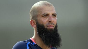 Moeen Ali during England training