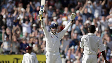 England needed only one run in the second innings to seal a 4-0 whitewash against West Indies at The Oval in 2004; Marcus Trescothick obliged with a four