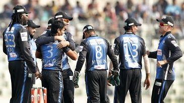 Farhad Reza picked up four wickets for Rangpur Riders