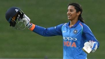 Smriti Mandhana scored her fourth ODI century