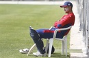Paras Khadka during a training session, January 24, 2019
