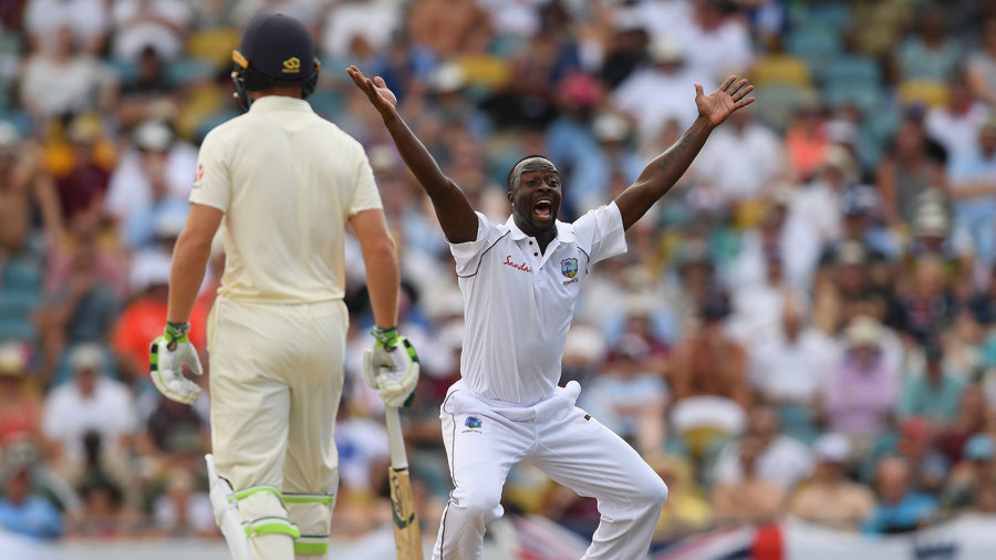 Part-time spinner Chase stars as Windies crush England