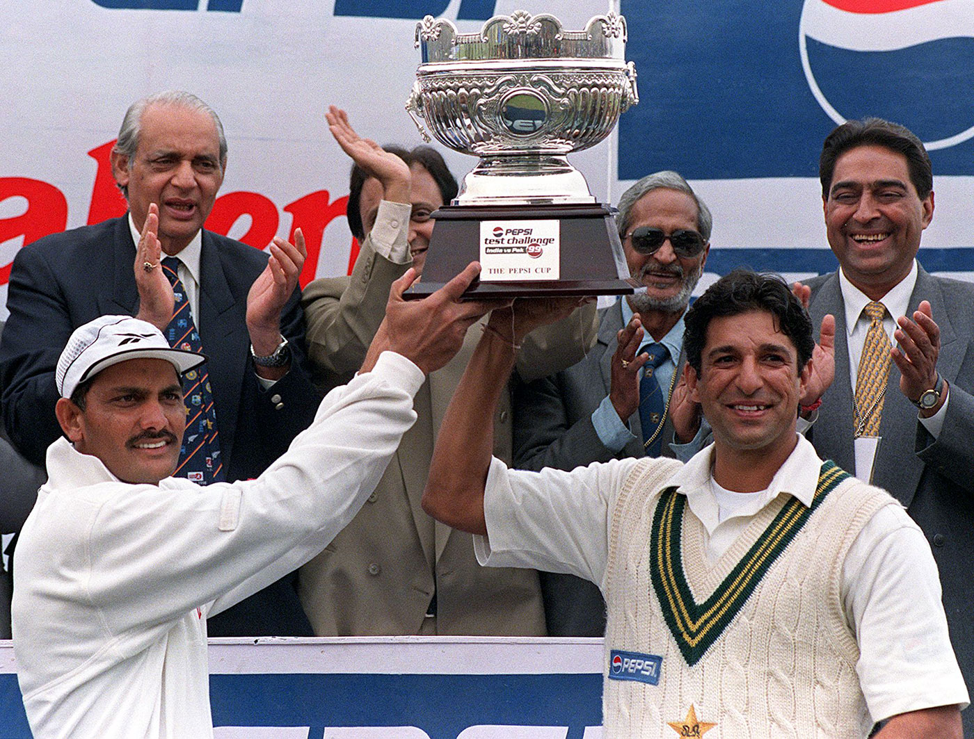India pulled it back in the Delhi Test, where Kumble famously took ten wickets in an innings, drawing the series 1-1
