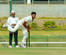 Basil Thampi troubled Vidarbha's lower order, Kerala v Vidarbha, Ranji Trophy 2018-19, 1st semi-final, Wayanad, 1st day, January 24, 2019