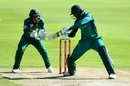 Shoaib Malik plays one late, South Africa v Pakistan, 3rd ODI, Centurion, January 25, 2019
