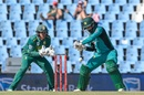 Mohammad Hafeez looks to play on the off side, South Africa v Pakistan, 3rd ODI, Centurion, January 25, 2019