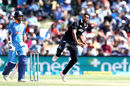 Ish Sodhi in his delivery stride, New Zealand v India, 2nd ODI, Mount Maunganui, January 26, 2018