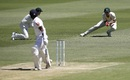 Roshen Silva caught at slip by Joe Burns, Australia v Sri Lanka, 1st Test, Brisbane, 3rd day, January 26, 2019