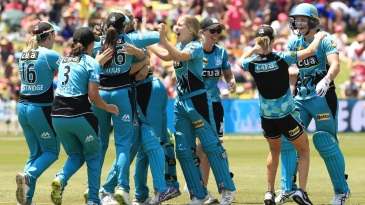 Brisbane Heat became the first non-Sydney team to win the WBBL