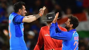 Kuldeep Yadav picked up four wickets