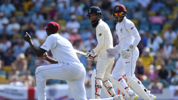 Moeen Ali fell for a pair just before tea