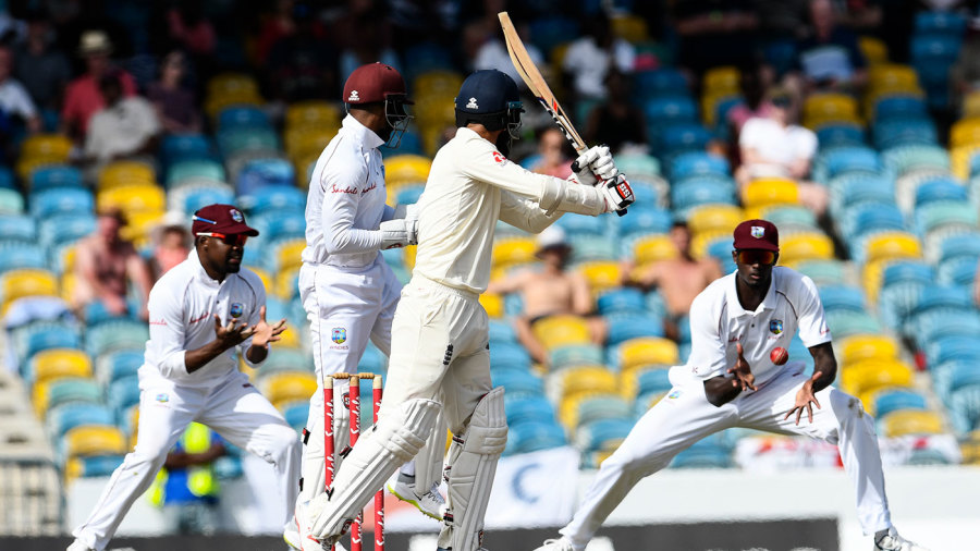 The target set by West Indies for England in Barbados was about 200 runs less than the highest in Tests - 836 by England for West Indies in 1930