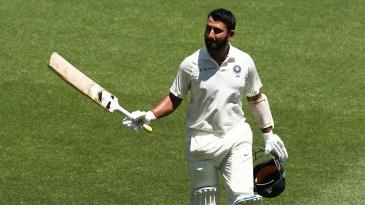Pujara hit an unbeaten 131 as Saurashtra won by five wickets